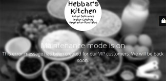 Hebbar's Kitchen Disappeared