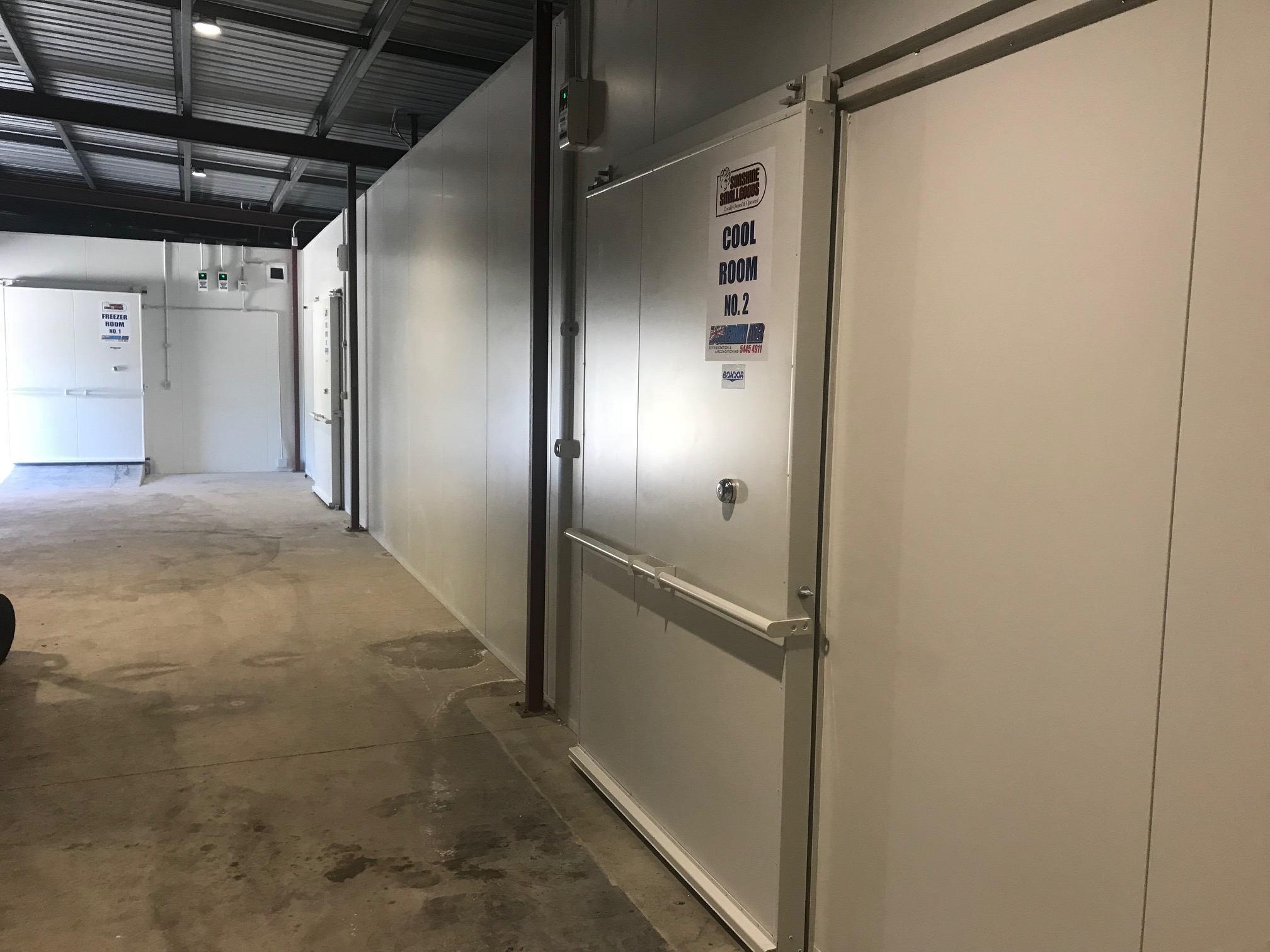 Storage Units Sunshine Coast Sunshine Small Goods Cold Room Build Buderim Air