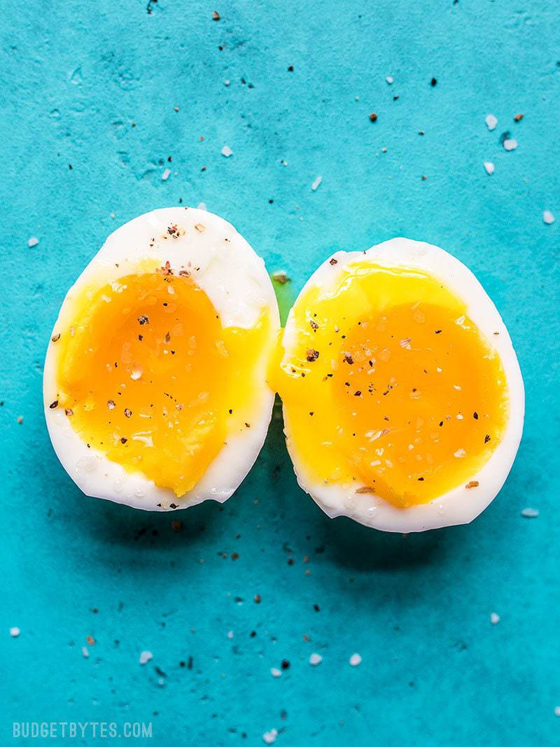 Perfect Soft Boiled Eggs Step By Step Photos And Video Budget Bytes