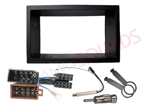 VW Golf MK4 Double DIN Car Stereo Fitting Kit Fascia Wiring Harness