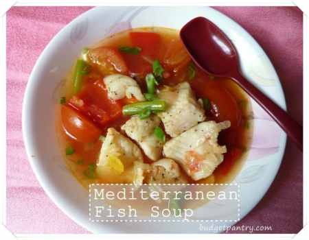 Sept 12- Mediterranean Fish Soup
