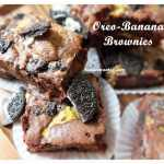 Mar 9- Oreo Banana Brownie mains