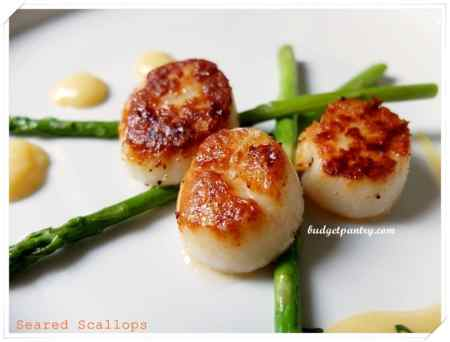 Sept 13- Seared Scallops