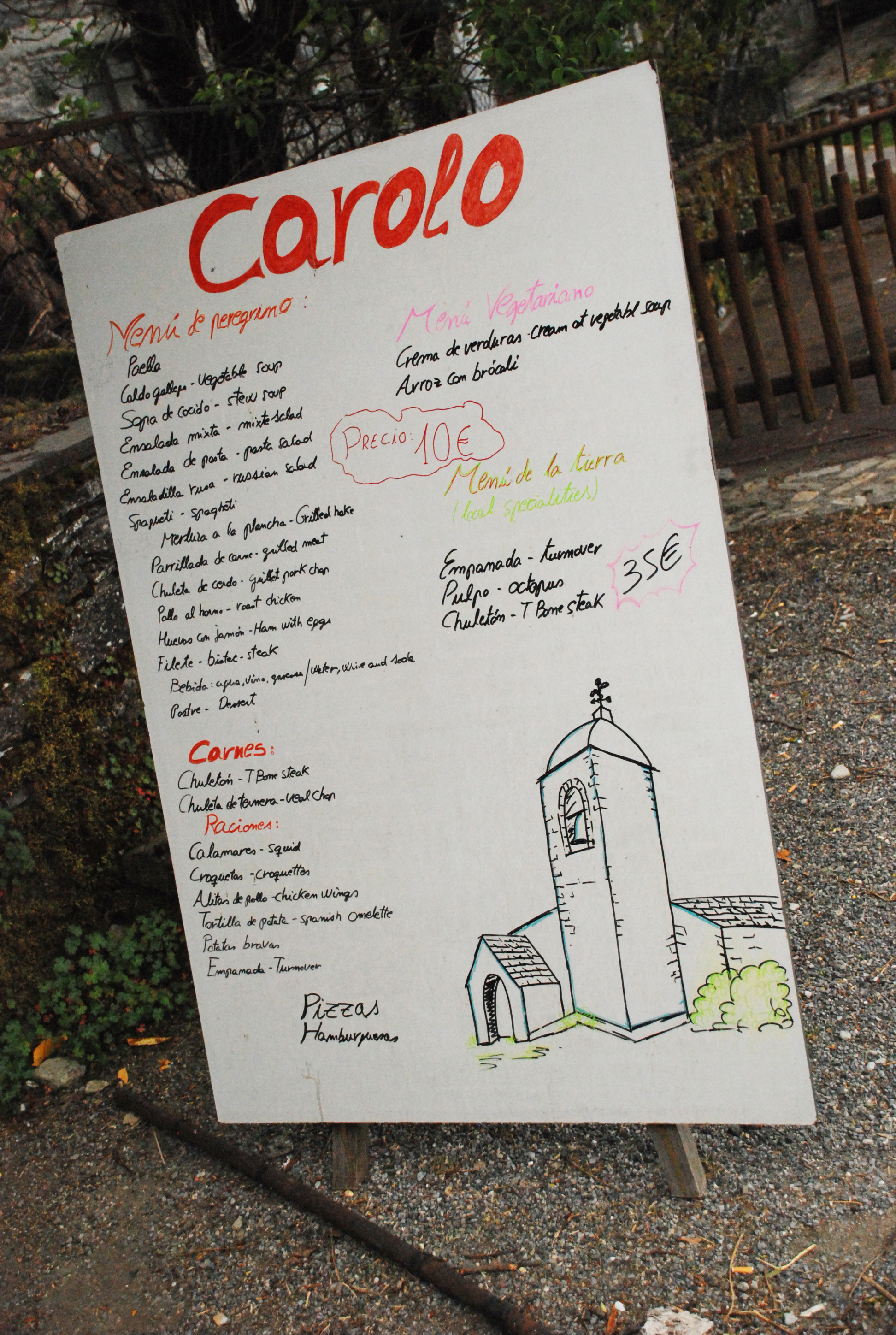 Camino Dessert Menu Camino De Santiago What You Need To Know
