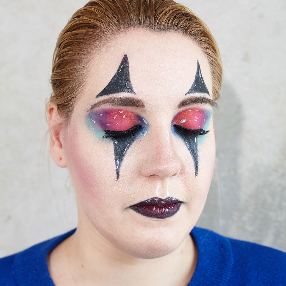 Clown Schminken Leicht Creepy Halloween Clown Make Up Budni Budni