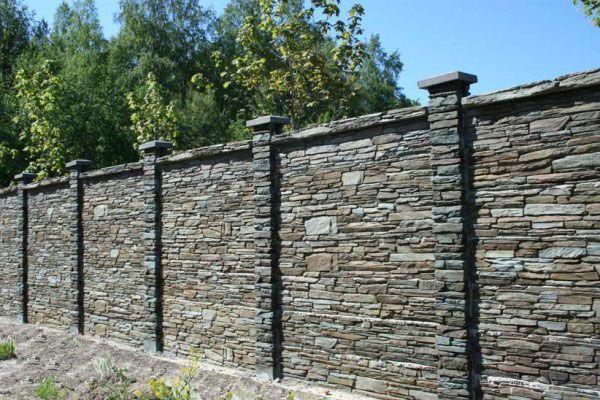 Забор-из-камня