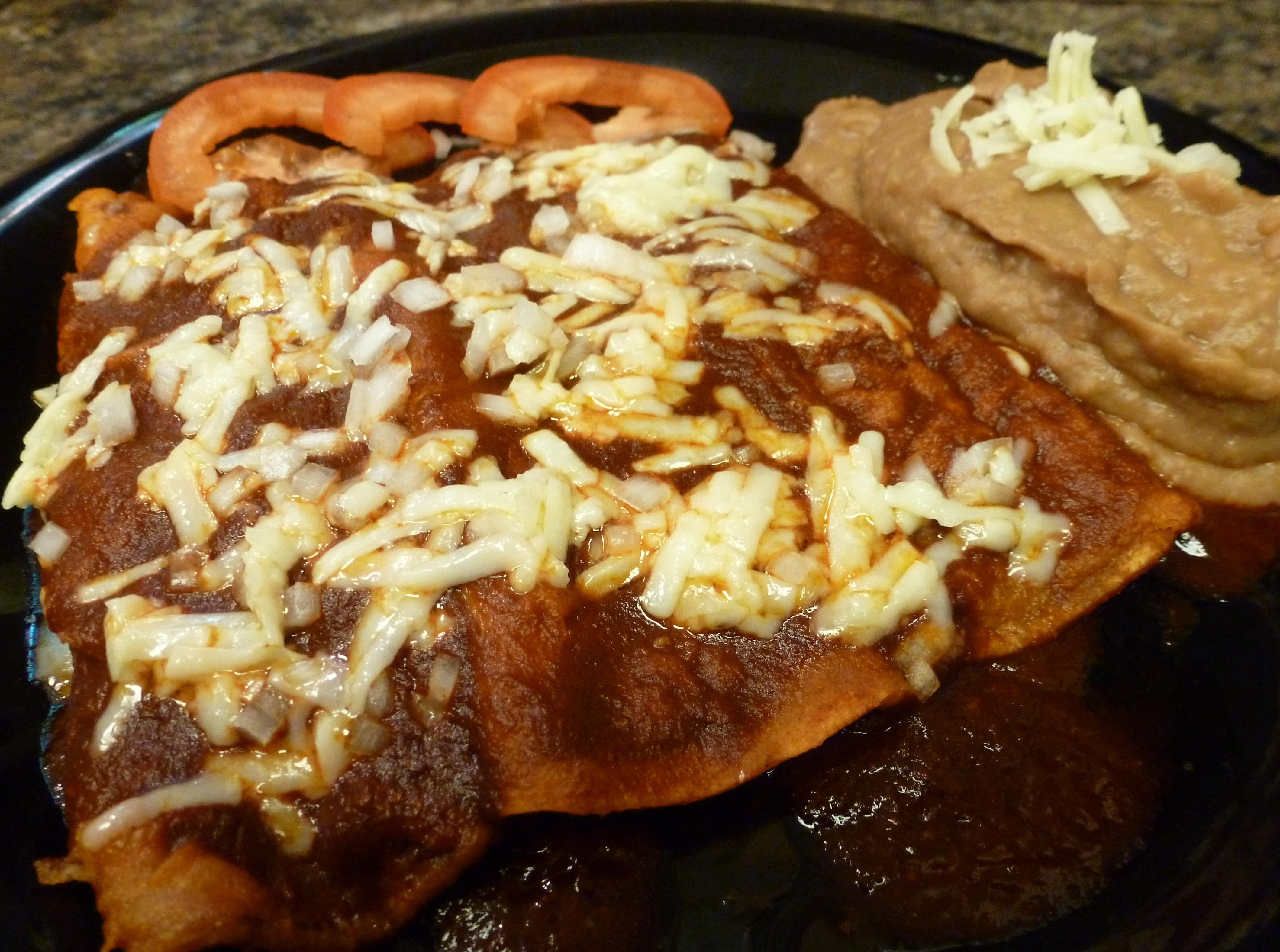 Salsa De Enchiladas Rojas