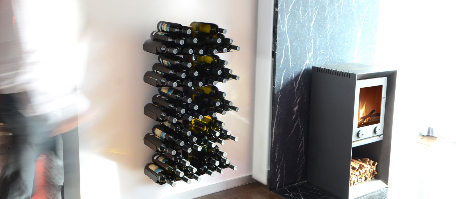 Designer Weinregal Weinregal Wine Tree Wandversion Von Radius Design Buerado De