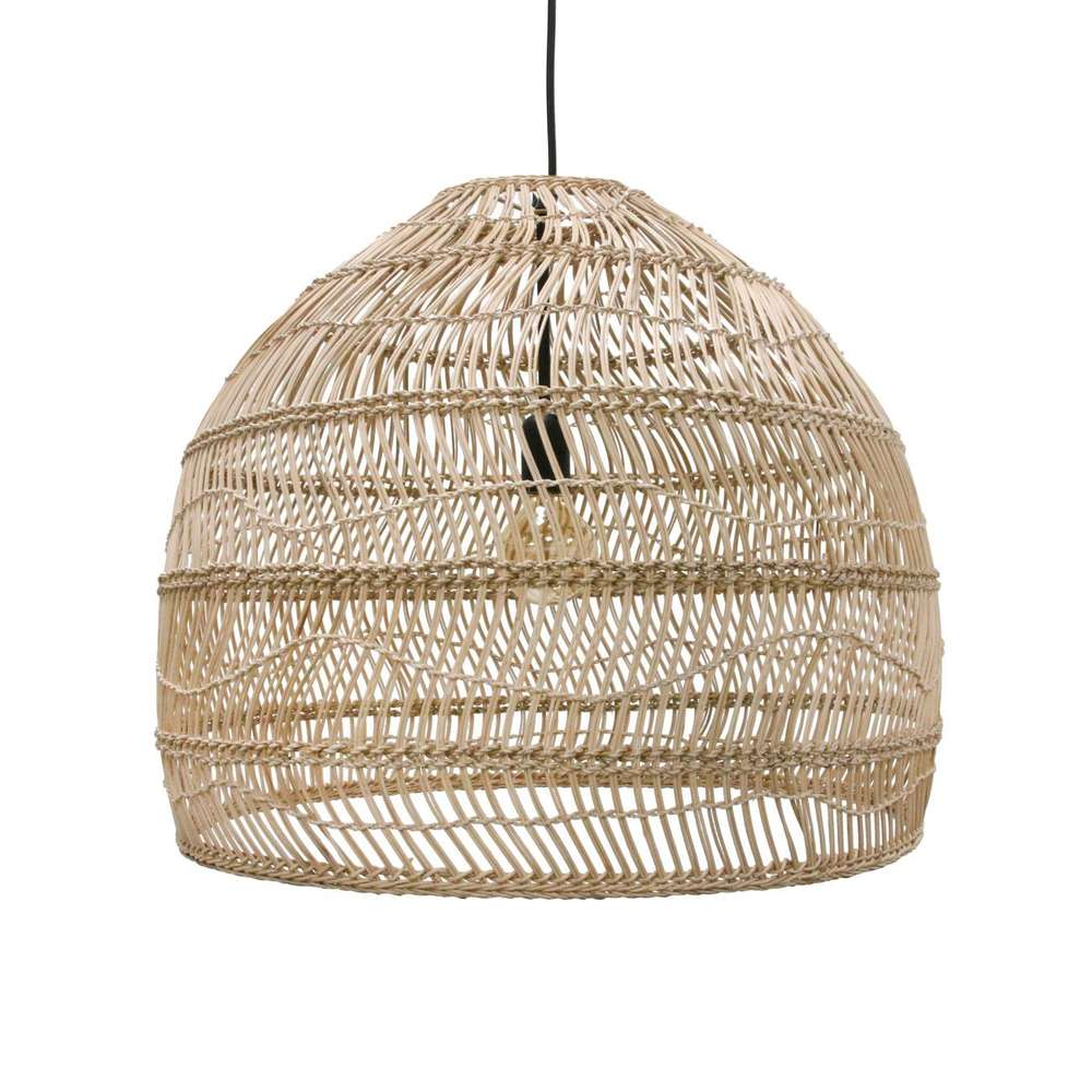 Esszimmer Lampe Korb Hk Living Lampe Wicker Hanging Medium
