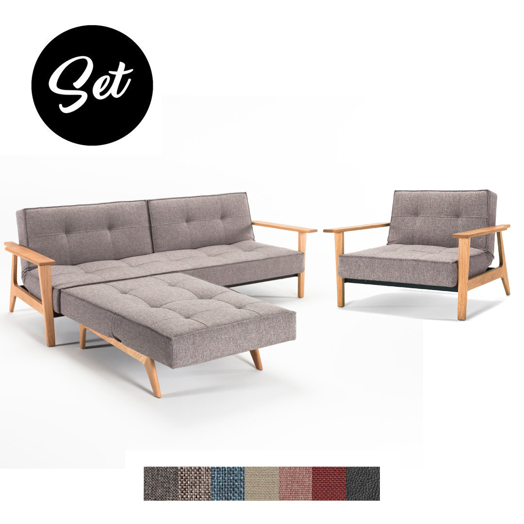 Sofa Und Sessel Set Innovation Splitback Frej Sofa Und Sessel Set