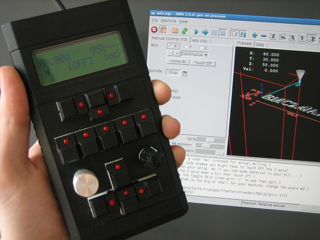 Open Source Cnc Remote Control Device - Cnc Software Libre