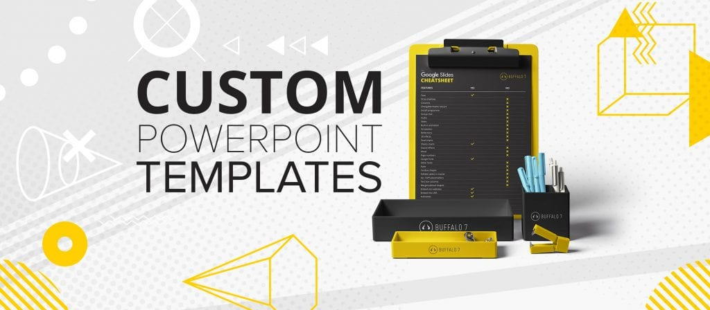 How to create a custom PowerPoint template Buffalo 7