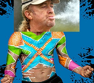 Miguel Angel Jimenez In SI Body Paint Issue