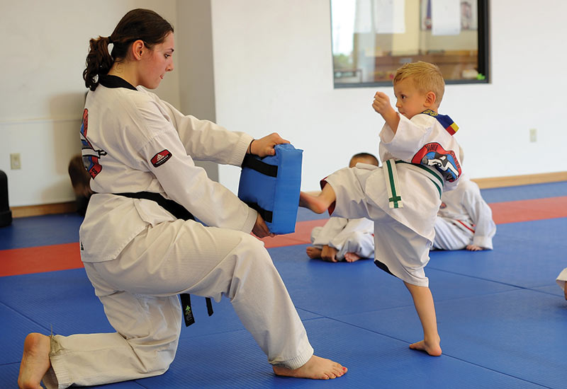 Hamburg, NY Martial Arts School - Master Chong\u0027s Tae Kwon Do
