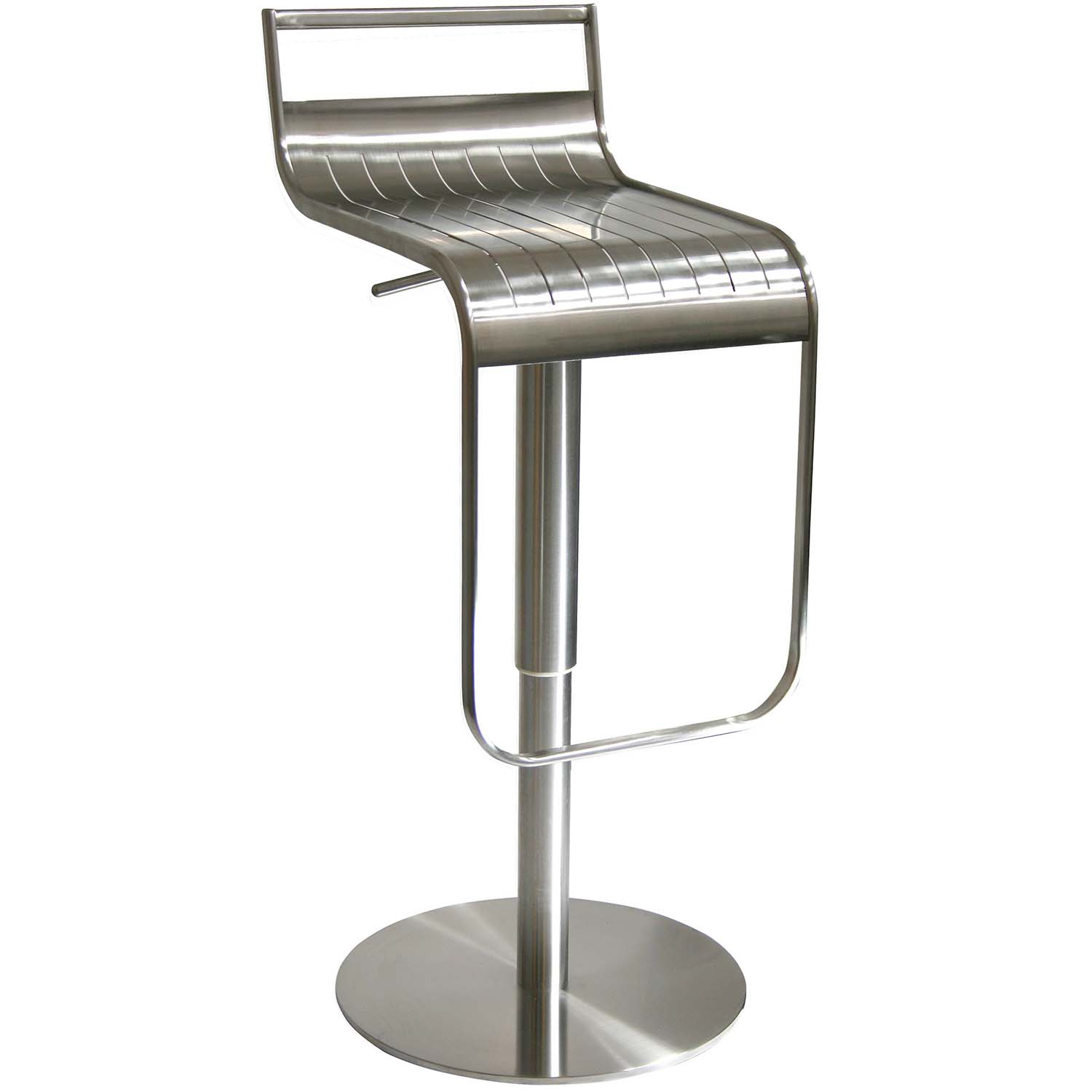 Stainless Bar Stools Bsss1 Amerihome Stainless Steel Bar Stool
