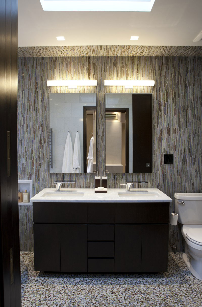 How To Design A Luxury Bathroom With Black Cabinets Buffets And Cabinets