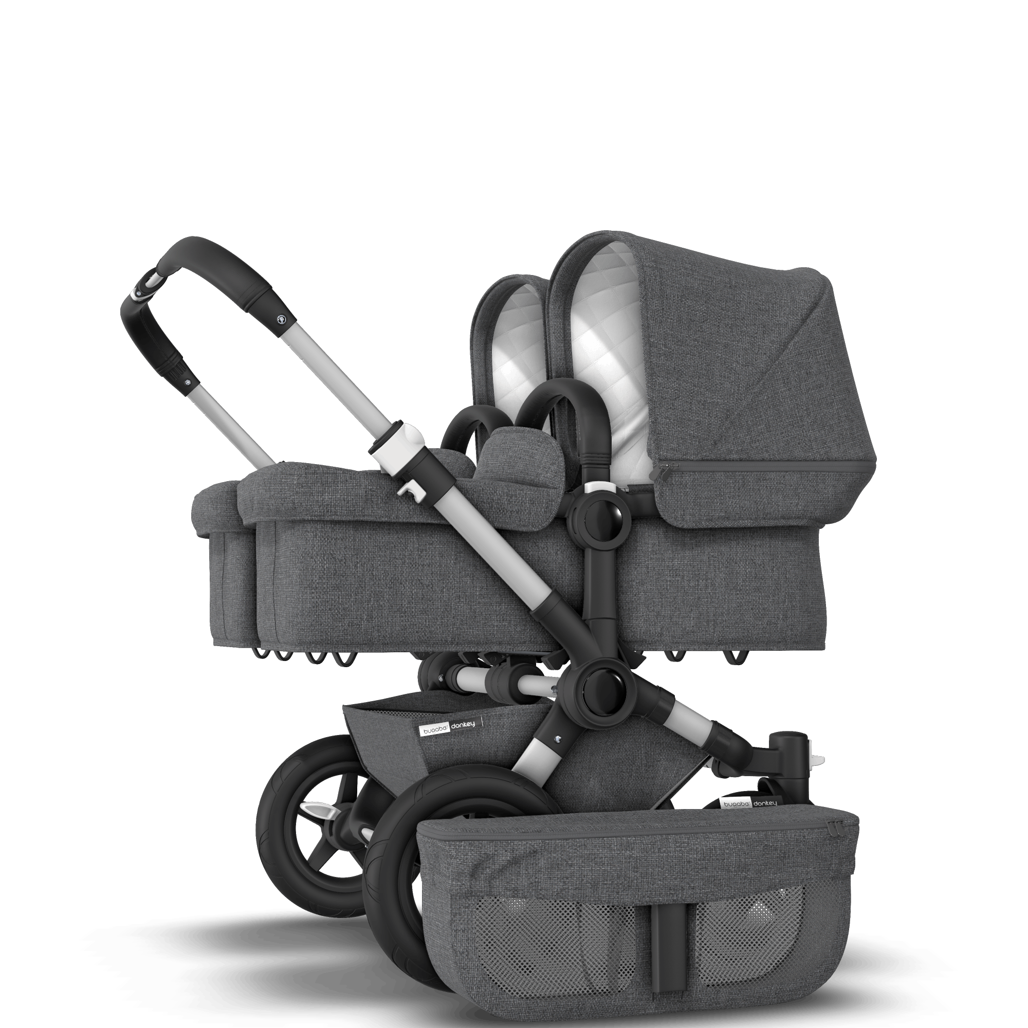 Best Knee Stroller Bugaboo Donkey 2 Twin Seat And Bassinet Stroller