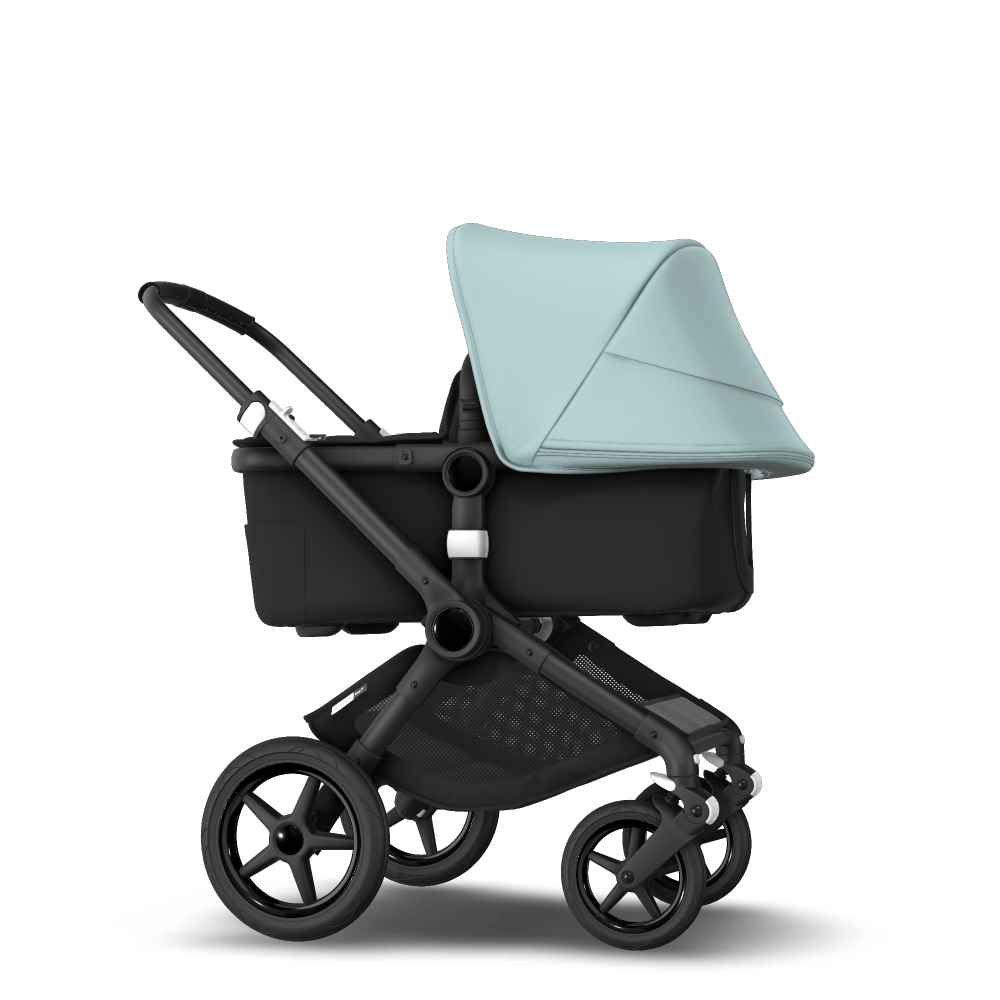 Bugaboo Fox Vs Joolz Day 2 Bugaboo Fox 2 Seat And Carrycot Pushchair Vapor Blue Sun