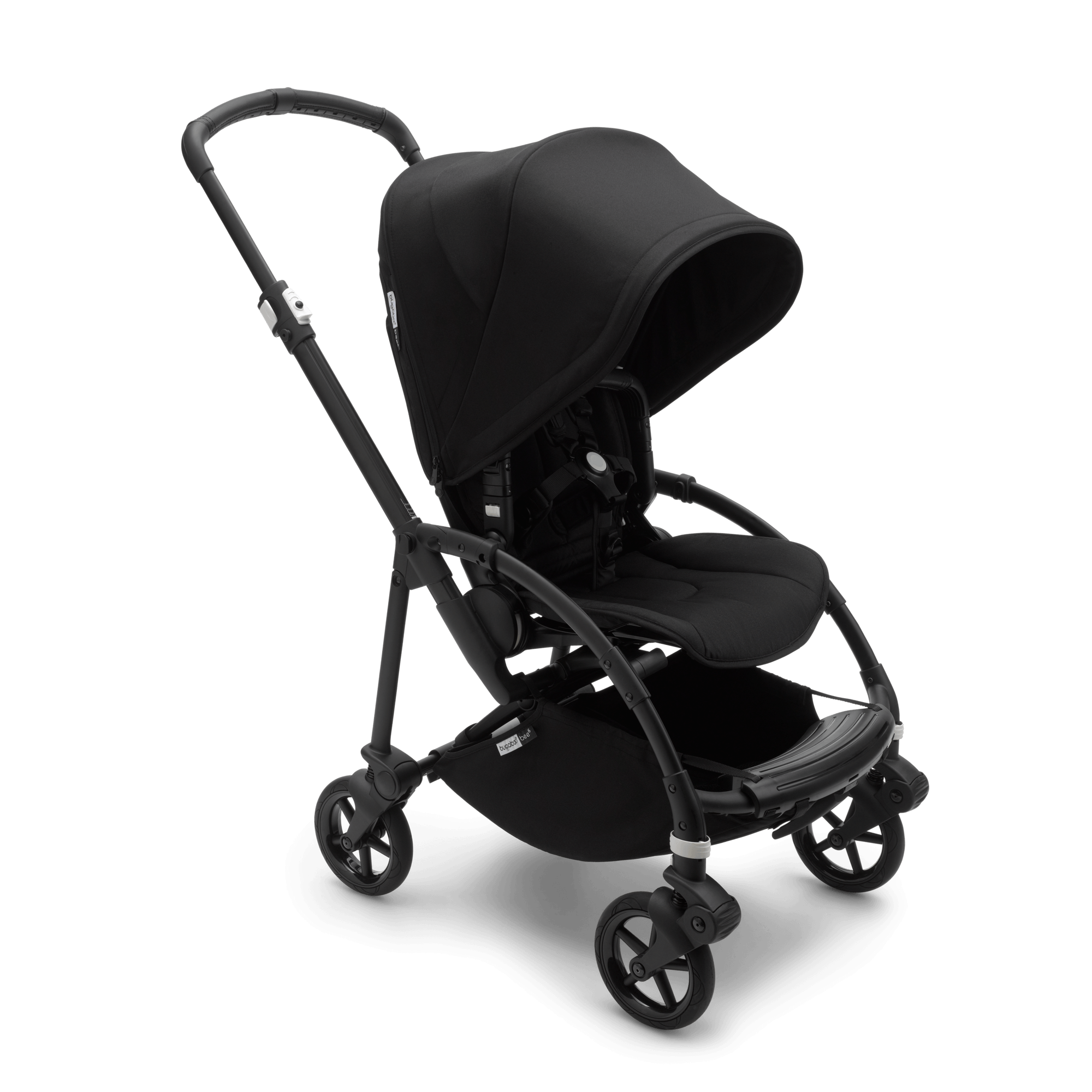 Bugaboo Pushchair Bag Bugaboo Bee 6 Carrycot And Seat Pushchair Black Sun Canopy
