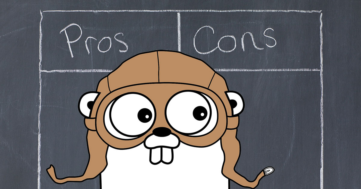 Should I Go? The Pros and Cons of Using Go Programming Language