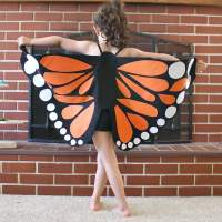 Felt Monarch Butterfly Wings (Tutorial)