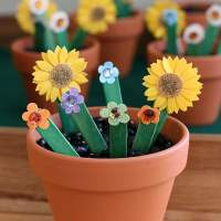 Learning the ABC's with an Alphabet Flower Garden Activity