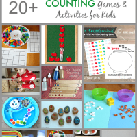 20+ Counting Games and Activities for Kids