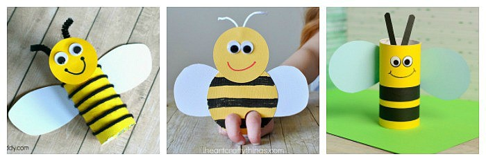 15 Bee Crafts for Kids - Buggy and Buddy