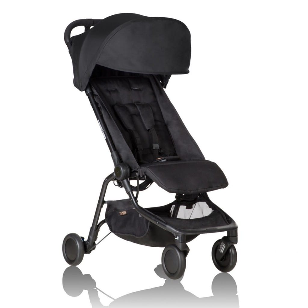 Black Buggy Days 2018 Mountain Buggy Nano V2 Pushchair Lightweight Pushchairs