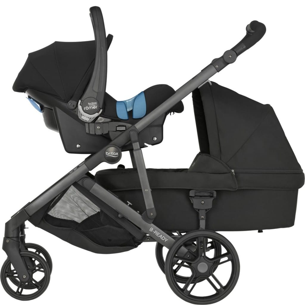 Pram Extra Seat Britax B Ready Pushchair Review Buggybaby