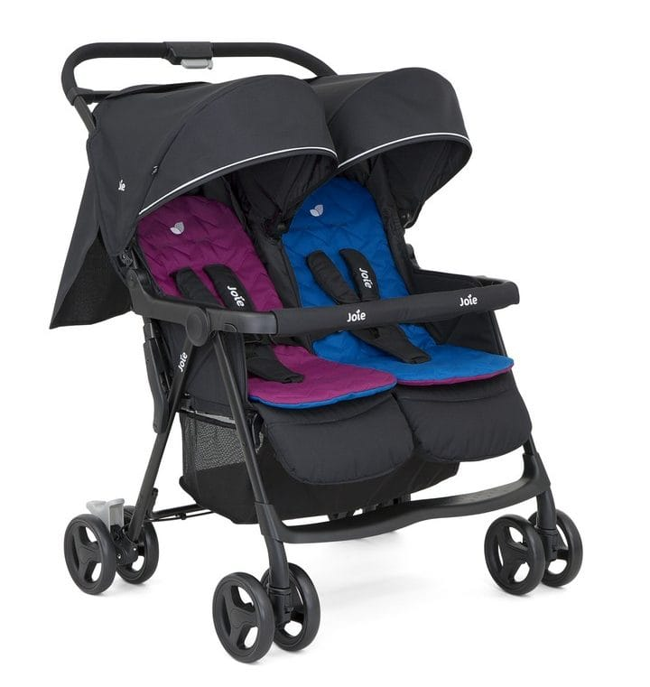 Twin Mountain Buggy Best Double Pushchair For Newborn And Toddler Buggybaby