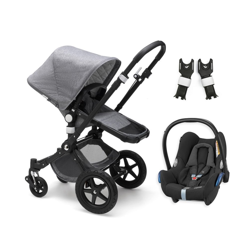 Baby Travel Systems Northern Ireland Cameleon 3 Plus Classic Collection Pushchair Black Chassis Grey Melange Maxi Cosi Cabriofix Travel System