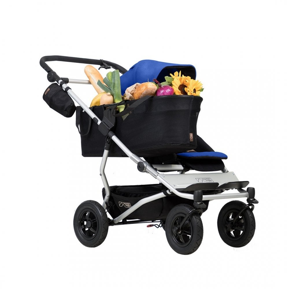 Best Double Jogging Pram Buy Mountain Buggy Duet Single Pushchair From Buggybaby