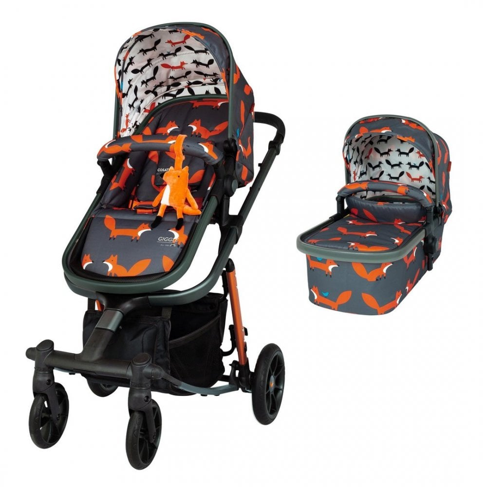 Pram And Pushchair Manufacturers Cosatto Giggle Quad Pram Pushchair Charcoal Mister Fox