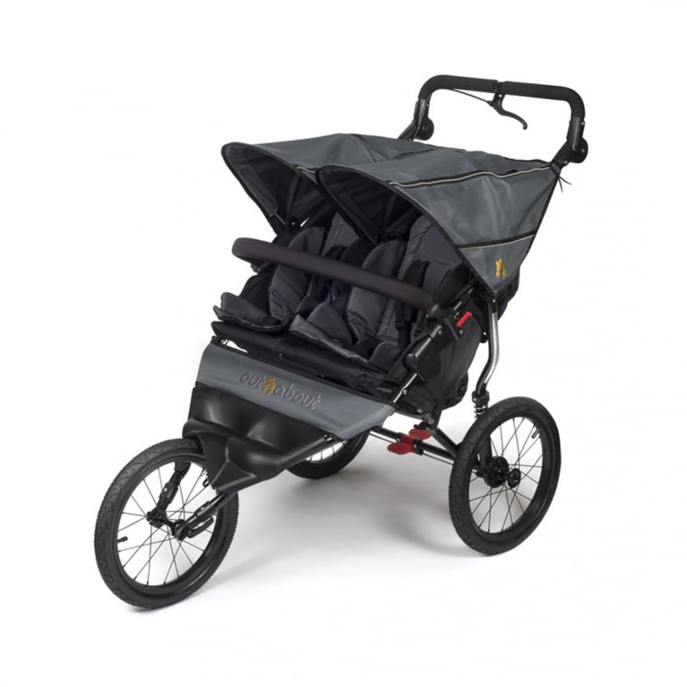 Baby Pram For Newborn Out N About Nipper Sport Double Pushchair Buggybaby