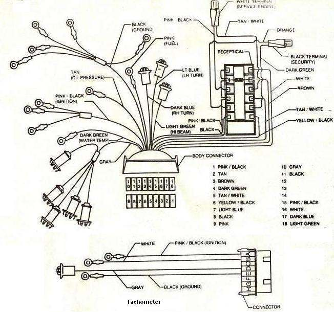 wiring diagram 1987 buick grand national