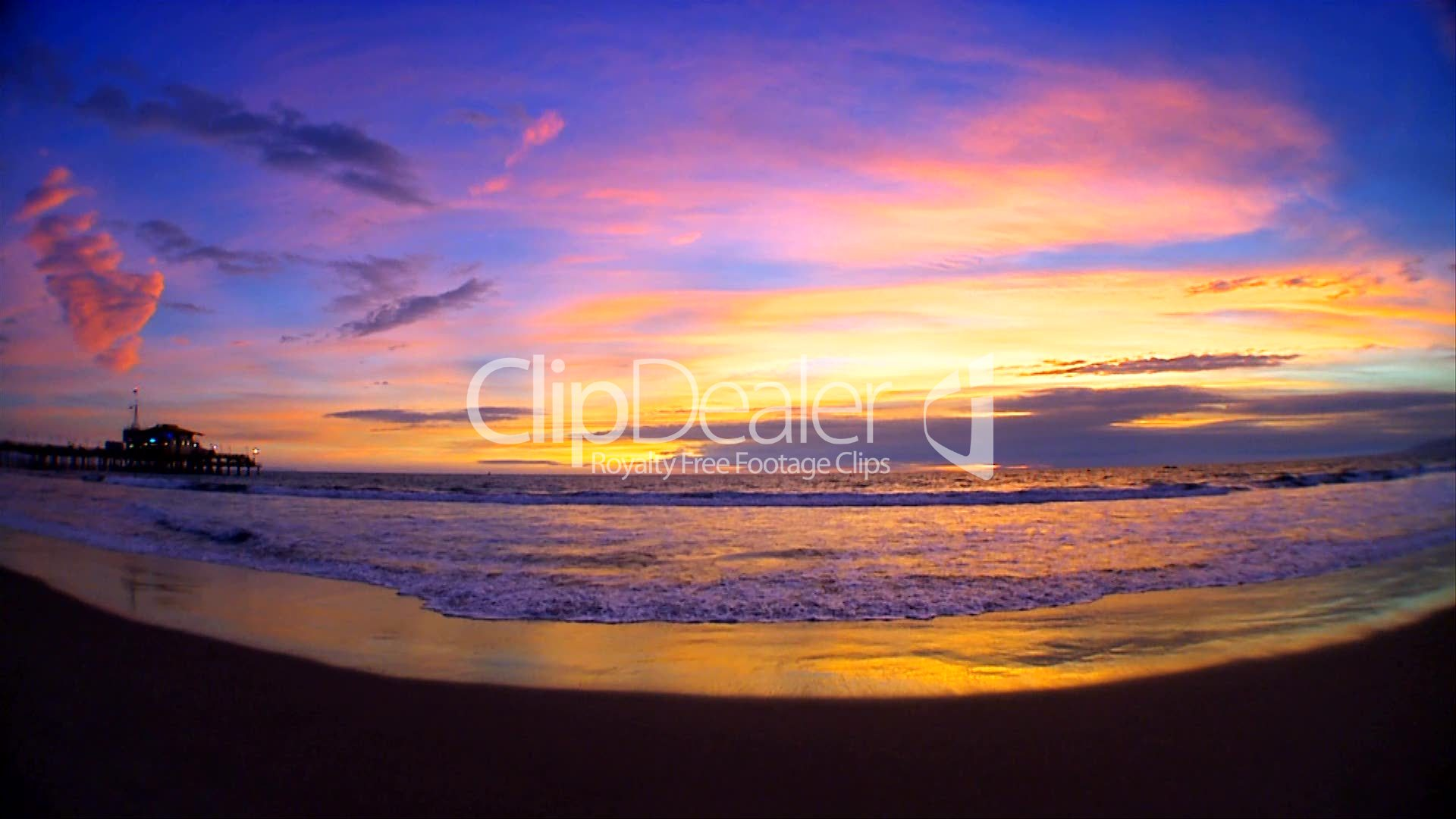 Sonnenuntergang Am Strand Royalty Free Video And Stock