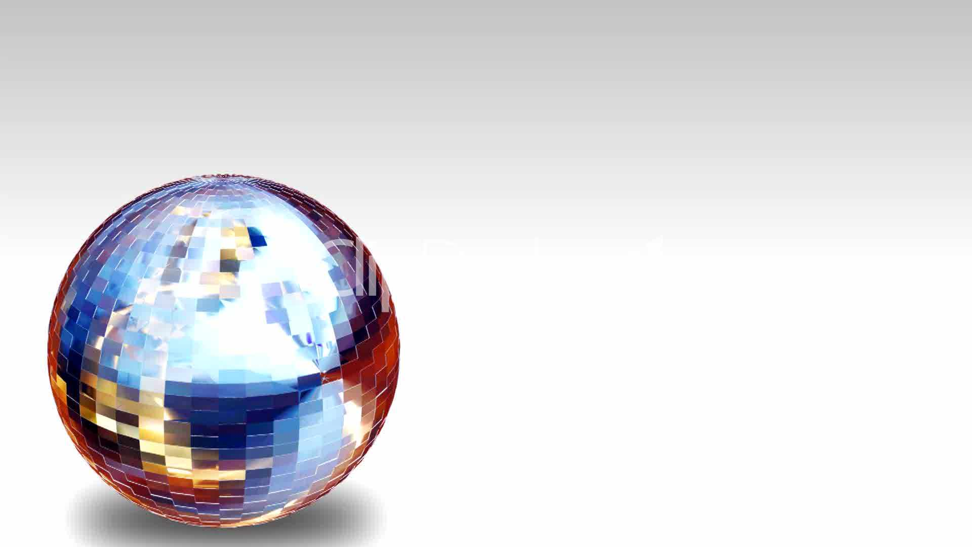Illustration Decoration 3d Animation Disco Ball: Royalty-free Video And Stock Footage