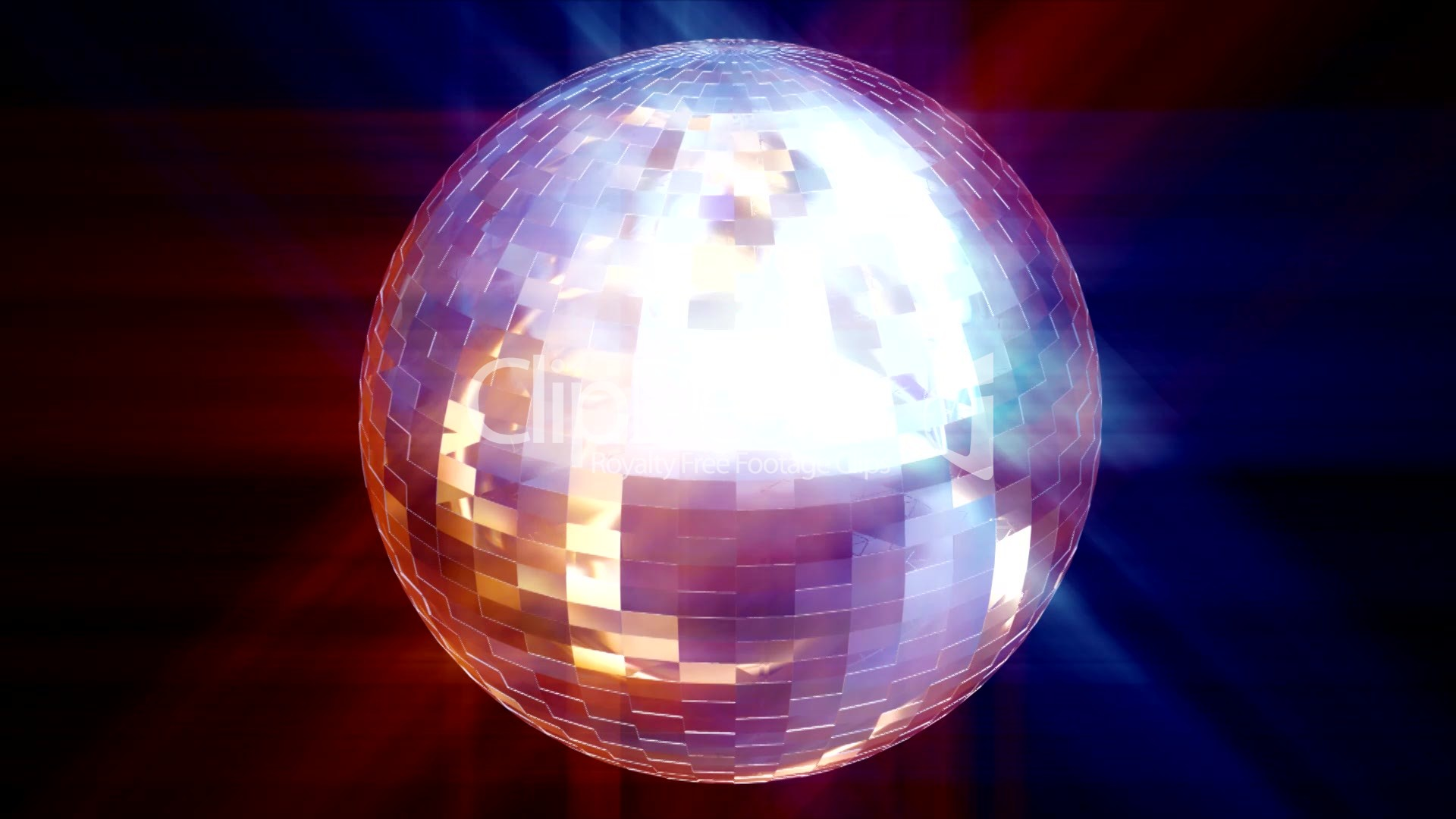 Round Mirror With Light Hd Animated Disco Ball Royalty Free Video And Stock Footage