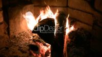 live fire of a fireplace.: Lizenzfreie Stock Videos und Clips