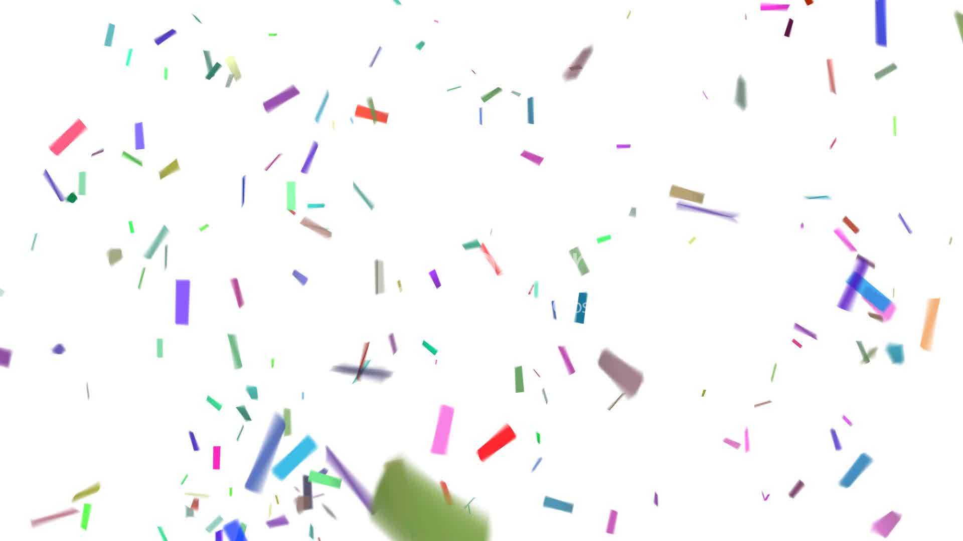 Animated Fall Wallpaper Confetti With Alpha Royalty Free Video And Stock Footage