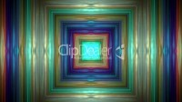 color square metal tunnel,game entrance,software interface ...