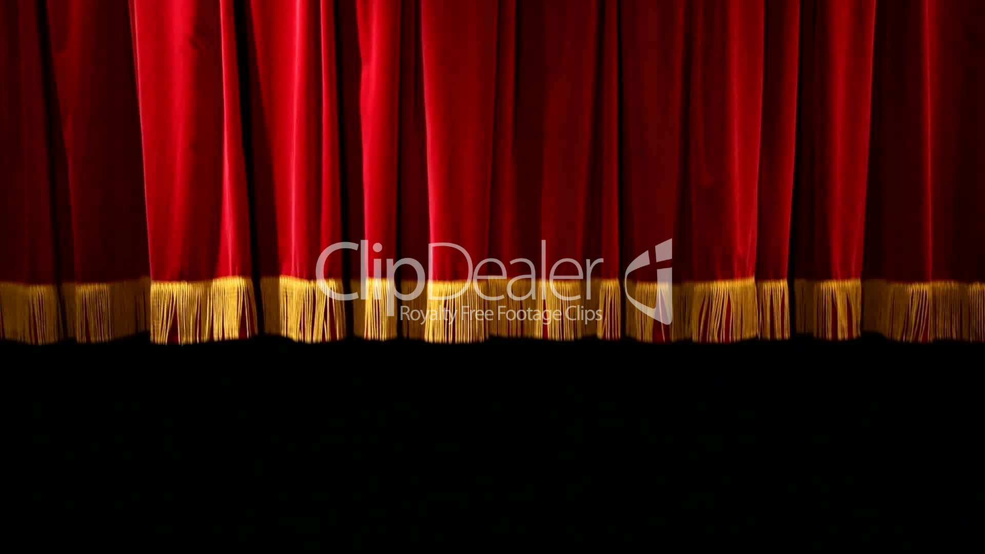 Theatervorhang Samt Red Theatre Curtain Theatervorhang V2 Lizenzfreie Stock