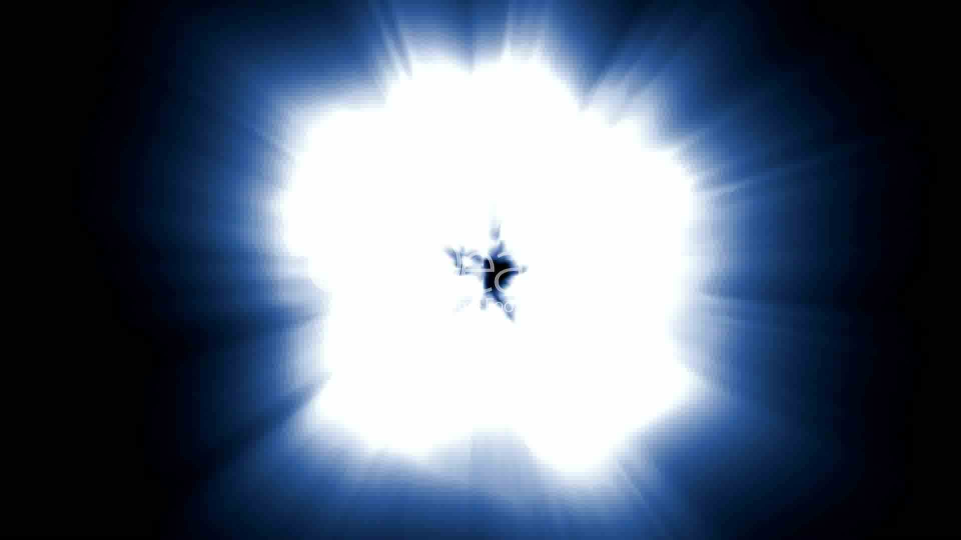 Led Solar Star Explosion,dazzling Light Generated By Nuclear