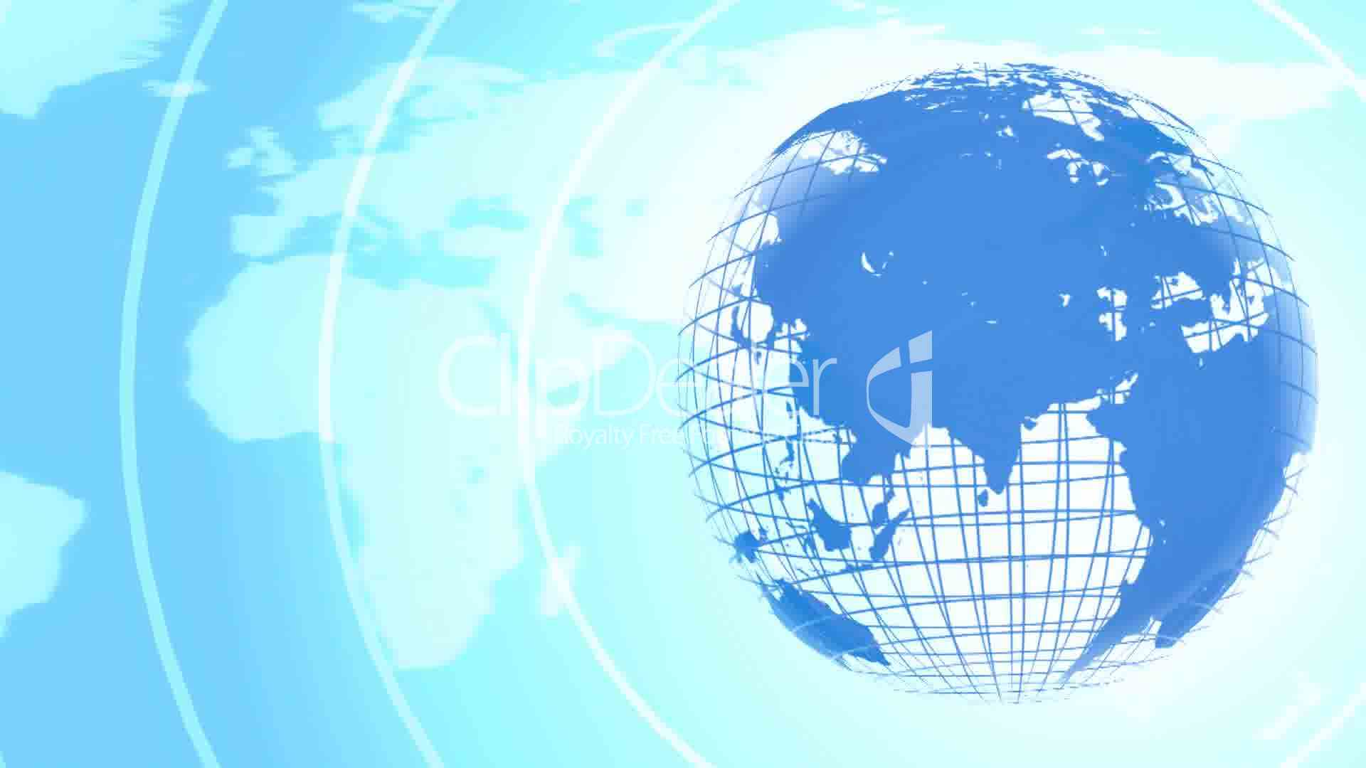 Earth Animated Wallpaper Background Of Earth Telecommunications Royalty Free Video