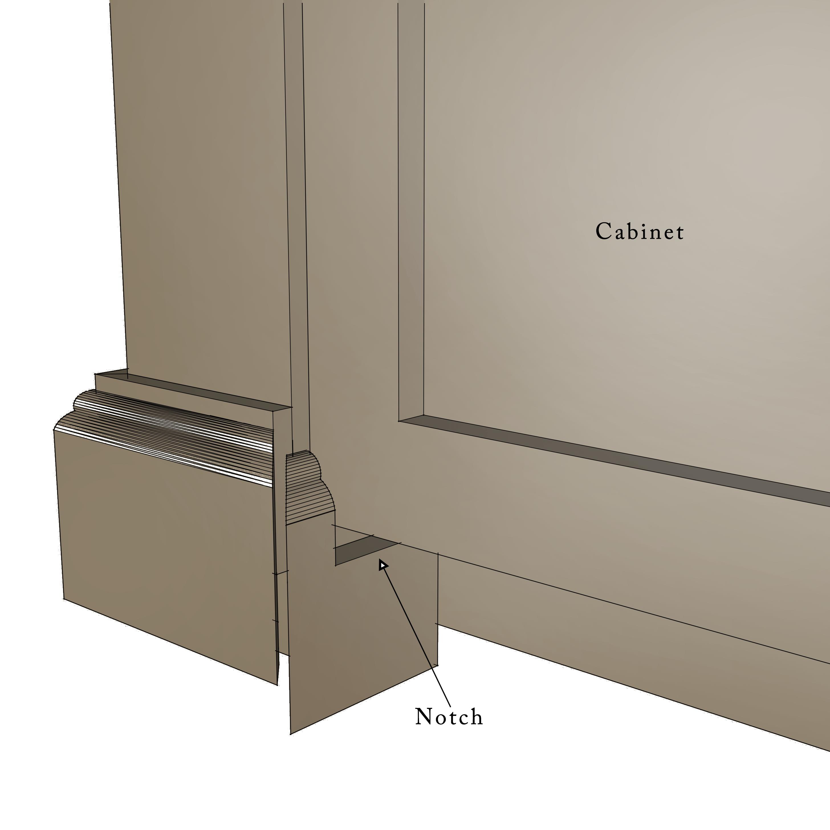 build a diy kitchen island 2 kitchen island cabinets Kitchen Island Drawing Step 30