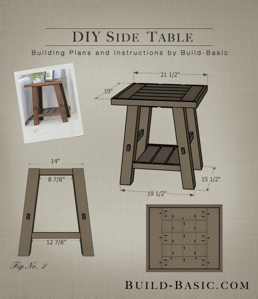 Build A Diy Side Table ‹ Build Basic