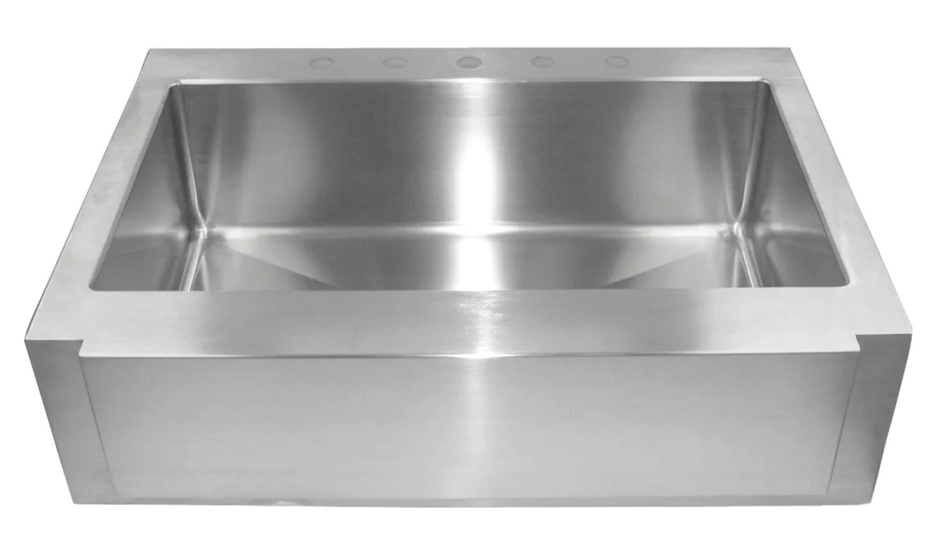 Belle Foret Farmhouse Sink Upc 819576101321 Belle Foret Bf3610 Stainless Steel 36 Inch 16