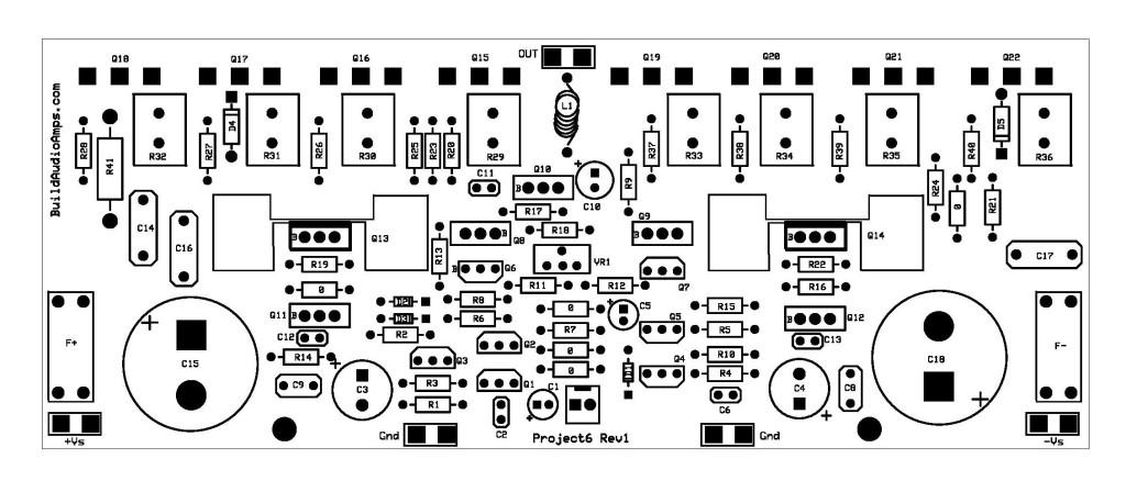 how to build 2watt audio amplifier