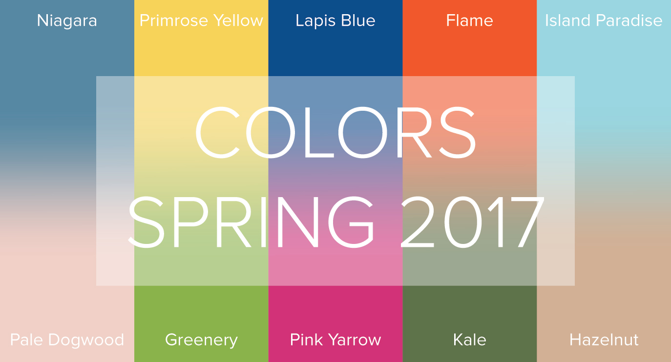 Pantone 2017 Spring 2017 Color Trends From Pantone Have Us Feeling Like We Re